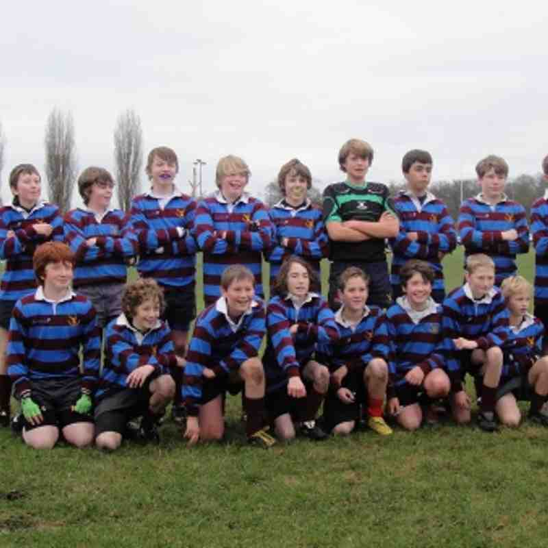 Under 13 vs Fullerians 08.01.2012