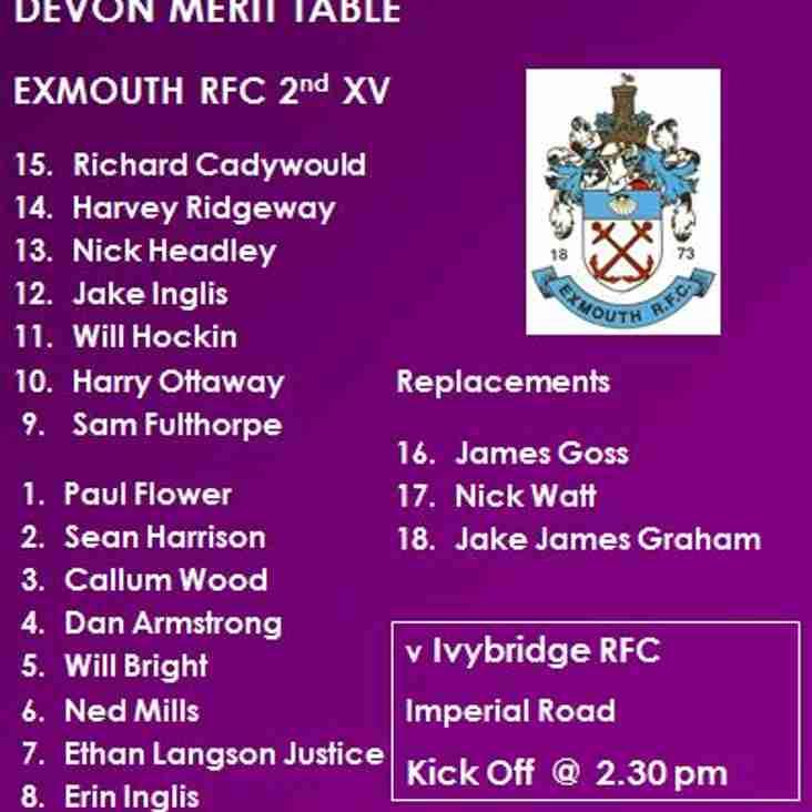 2nd XV v Ivybridge RFC