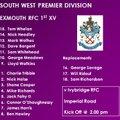 1st XV v Ivybridge RFC
