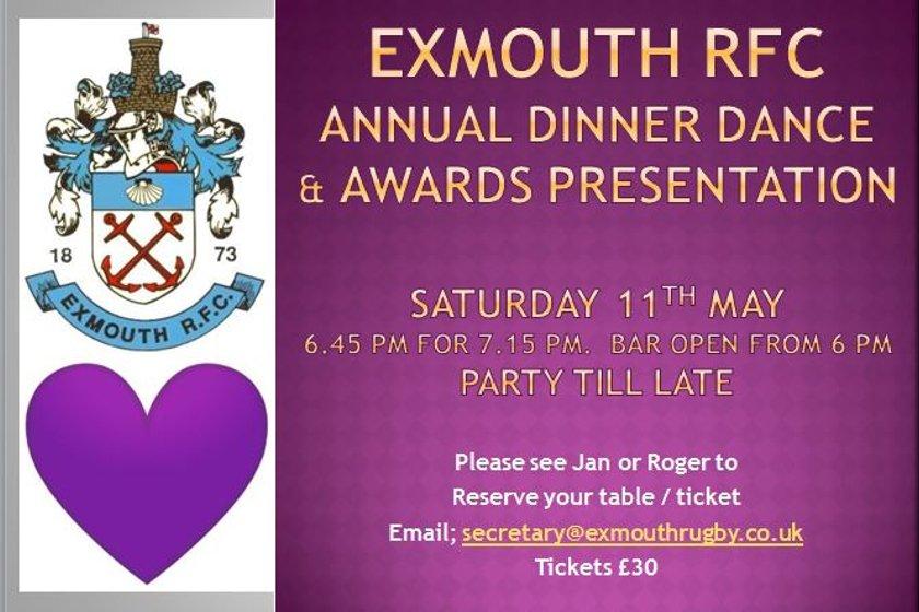 Annual Dinner Dance & Awards Presentation
