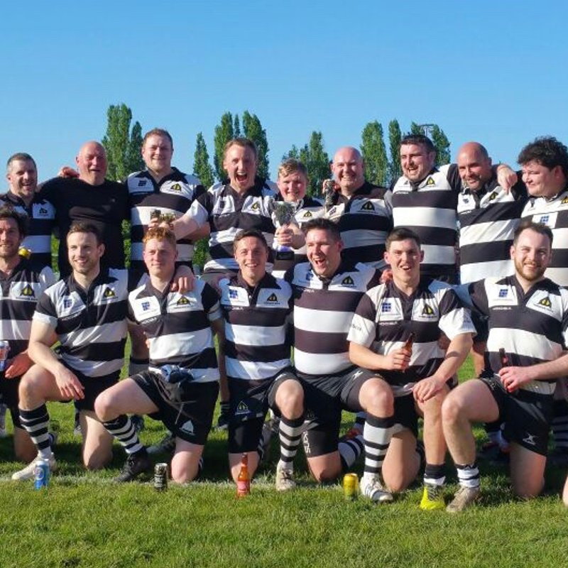 3rd XV - The Warriors beat Old Blues (Cup Final) 5 - 41
