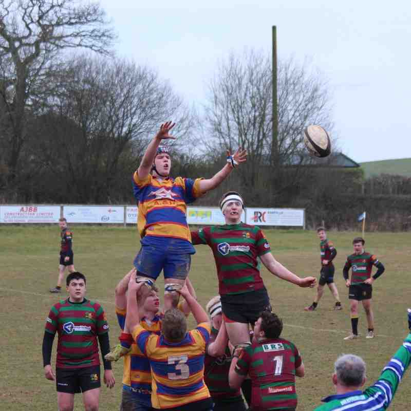 titans v derby. cup semi final