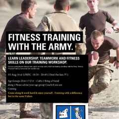 Fitness Training with The Army U13- Colt's