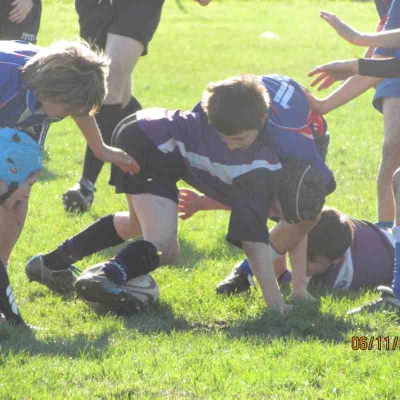 Under 12's vs Totness 6/11/11