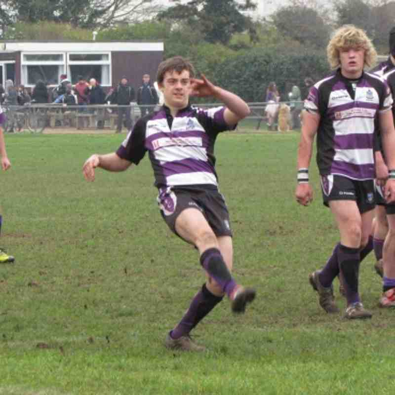 1/4 Final Devon Cup- Under 15's