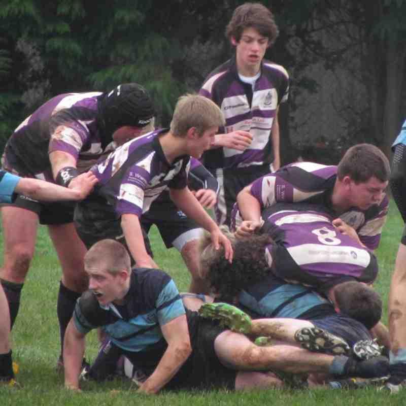 Under 16's vs Tiverton