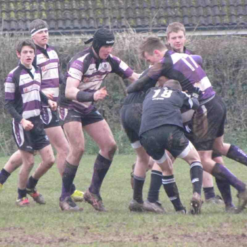 Under 16's vs Brixham