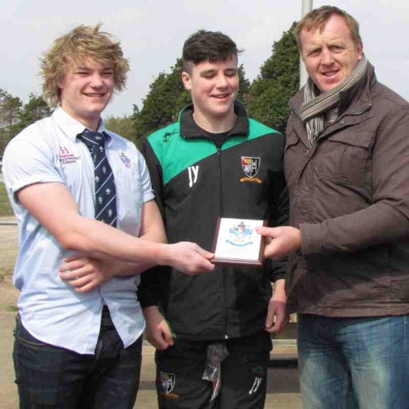 Under 16's vs Waunarlwydd