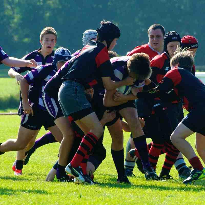 U15's vs Wellington