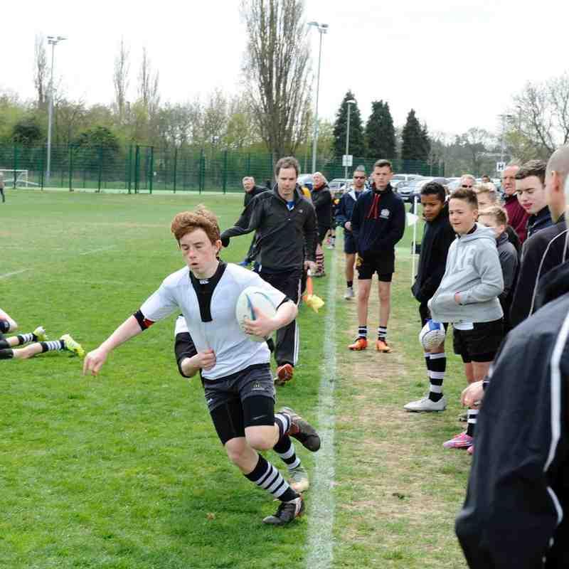 Farnham U13 Surrey Cup Final v Sutton & Epsom result 15 - 15