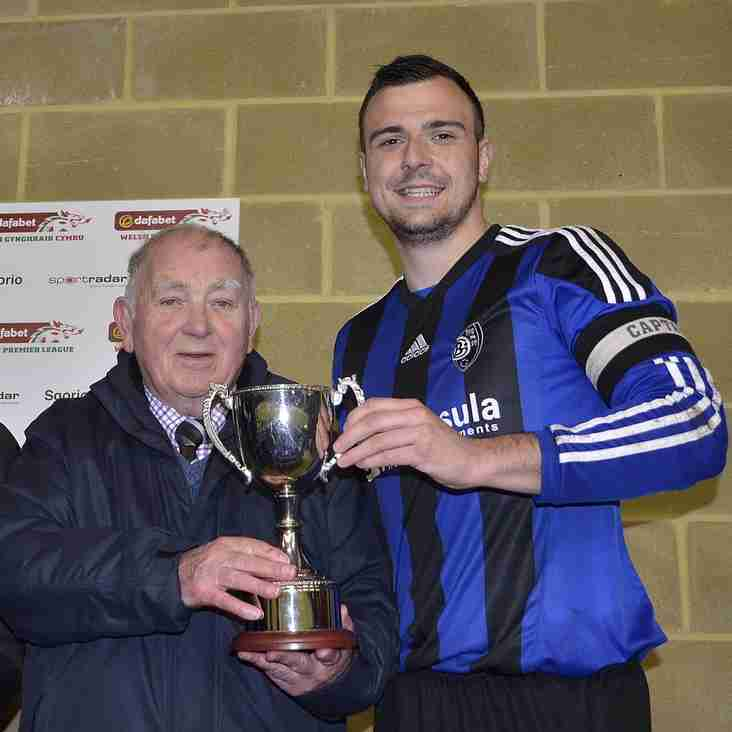 CONGRATULATIONS TO BRO GORONWY ON CUP DOUBLE