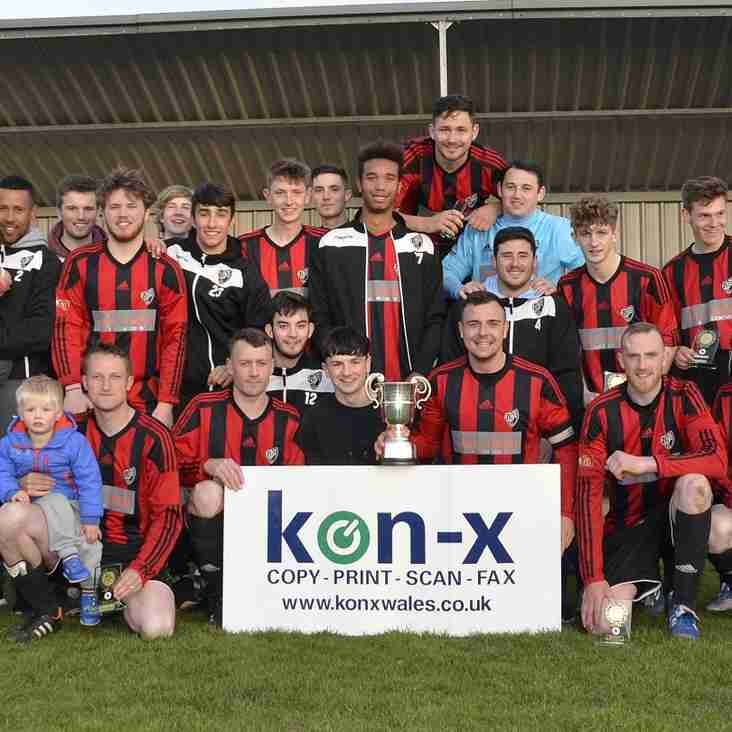 BRO GORONWY ARE  KONX  WALES  ANGLESEY LEAGUE CHAMPIONS