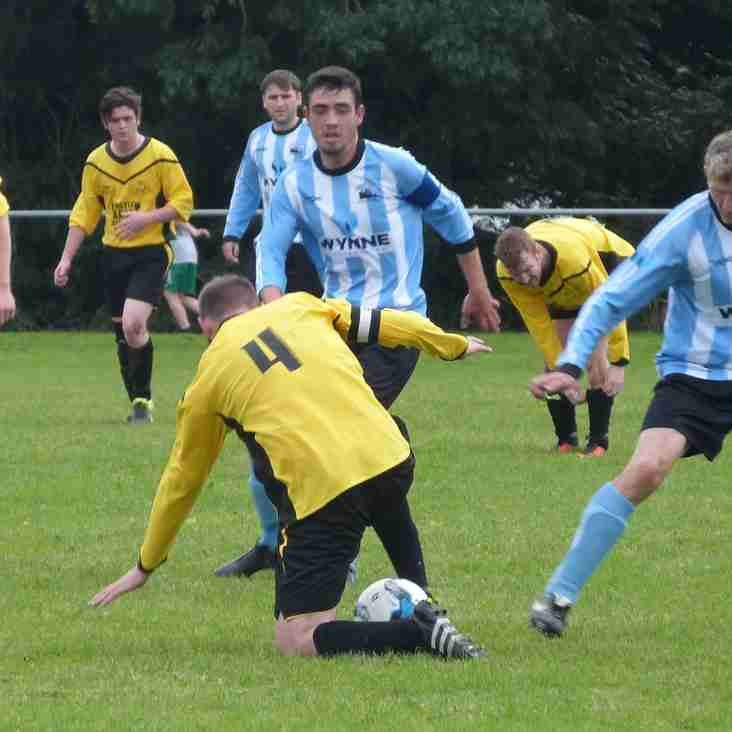 BILLED AS MATCH OF THE DAY, LLANGOED AND HOLYHEAD SERVE UP