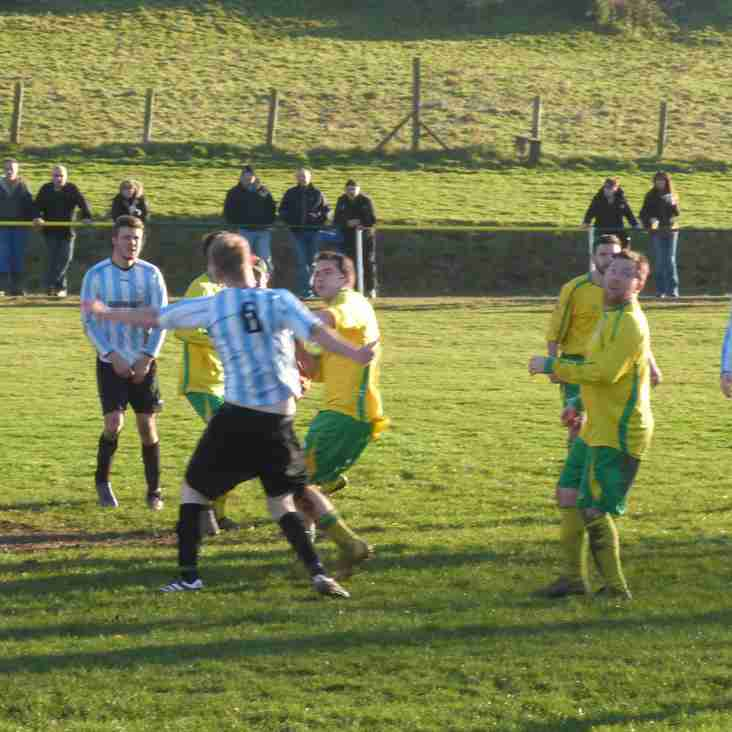 CARWYN  HITS TREBLE IN 8 GOAL ROMP