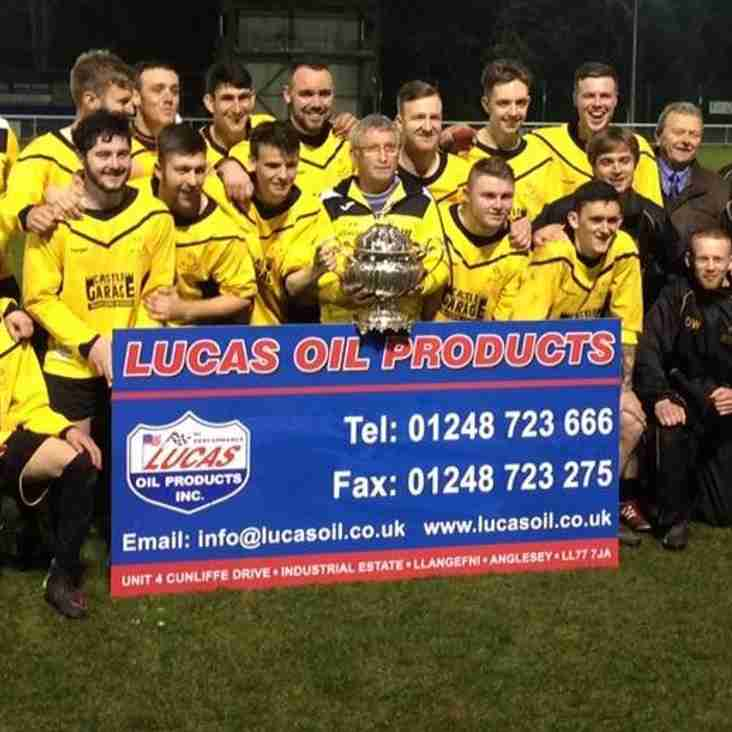 LLANGOED LEAGUE RUNNERS-UP