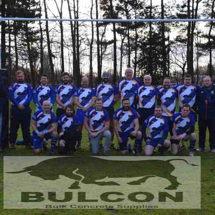 No Dry January For The 2nd XV As They Shine In Their New Kit