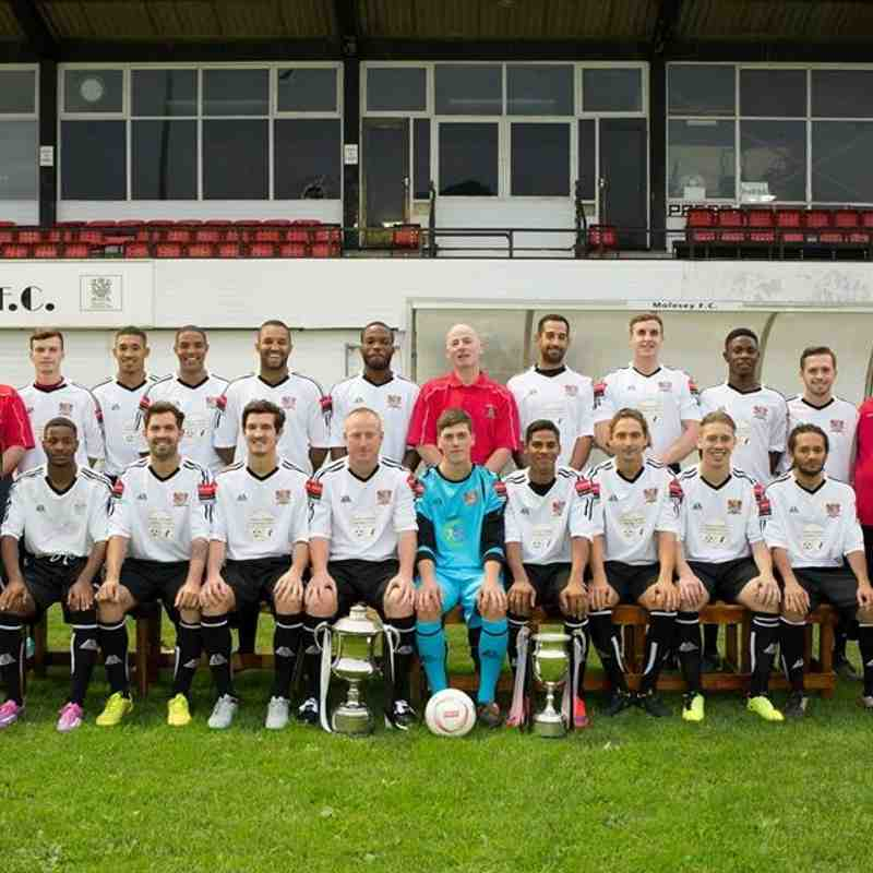Molesey FC 2015-16 - photos by John Wells