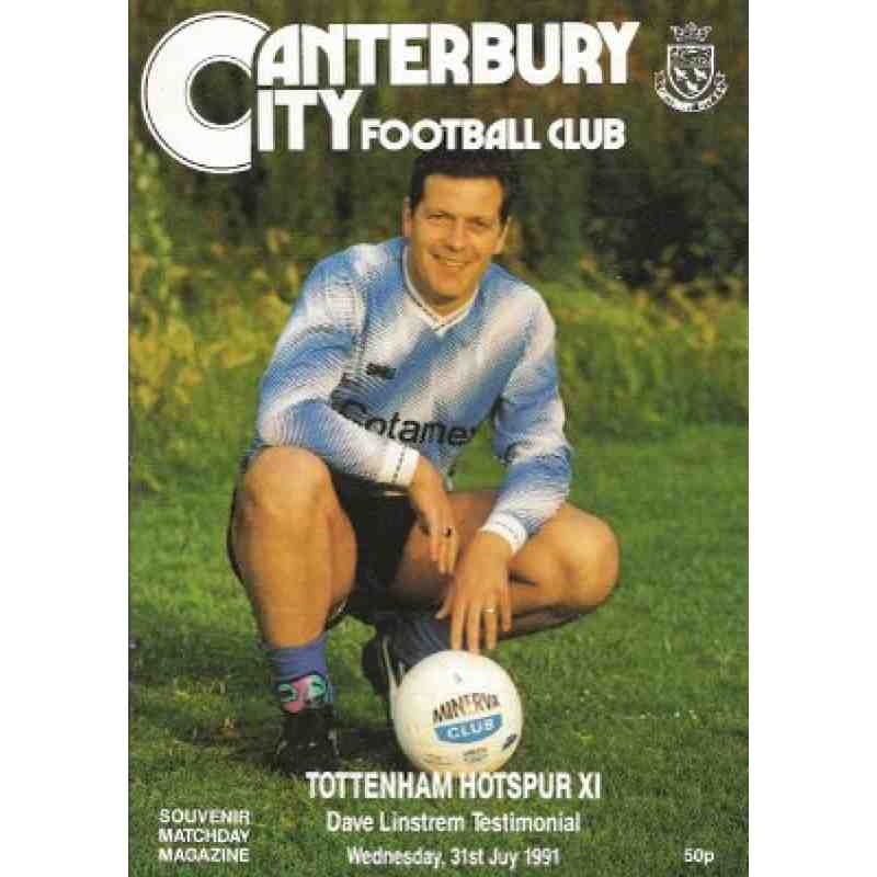 Special Issue Canterbury City Football Programmes