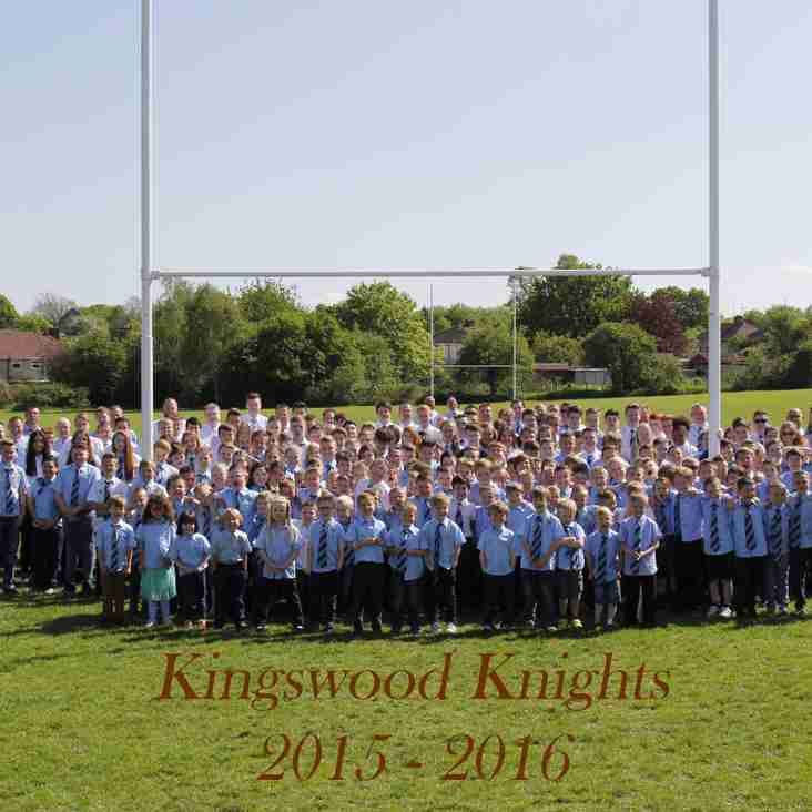 Kingswood Knights 2016-17 Season Starts 4th September.