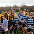 Knights U13's vs Keynsham. 15th Jan. 2017