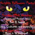 Knights Halloween Party.