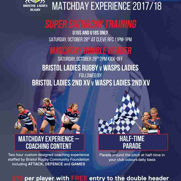 Bristol Ladies Rugby.