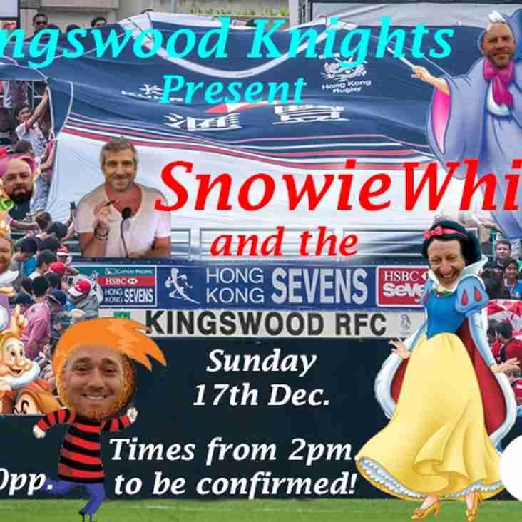 Kingswood Knights Christmas Panto