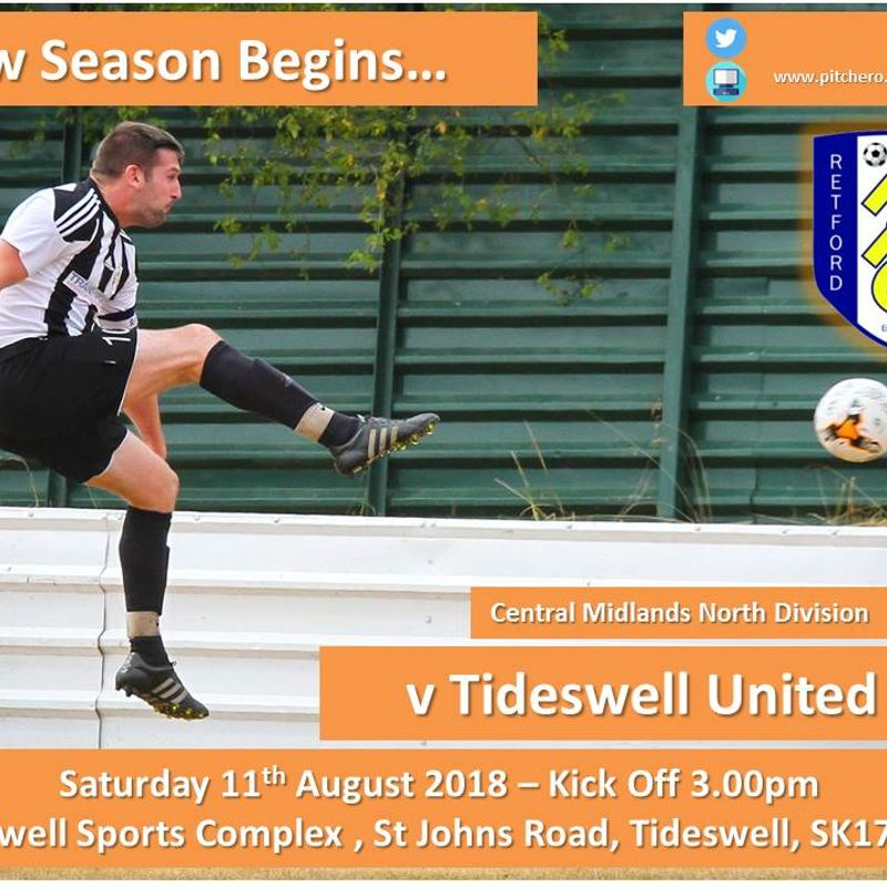 Tideswell United Preview...