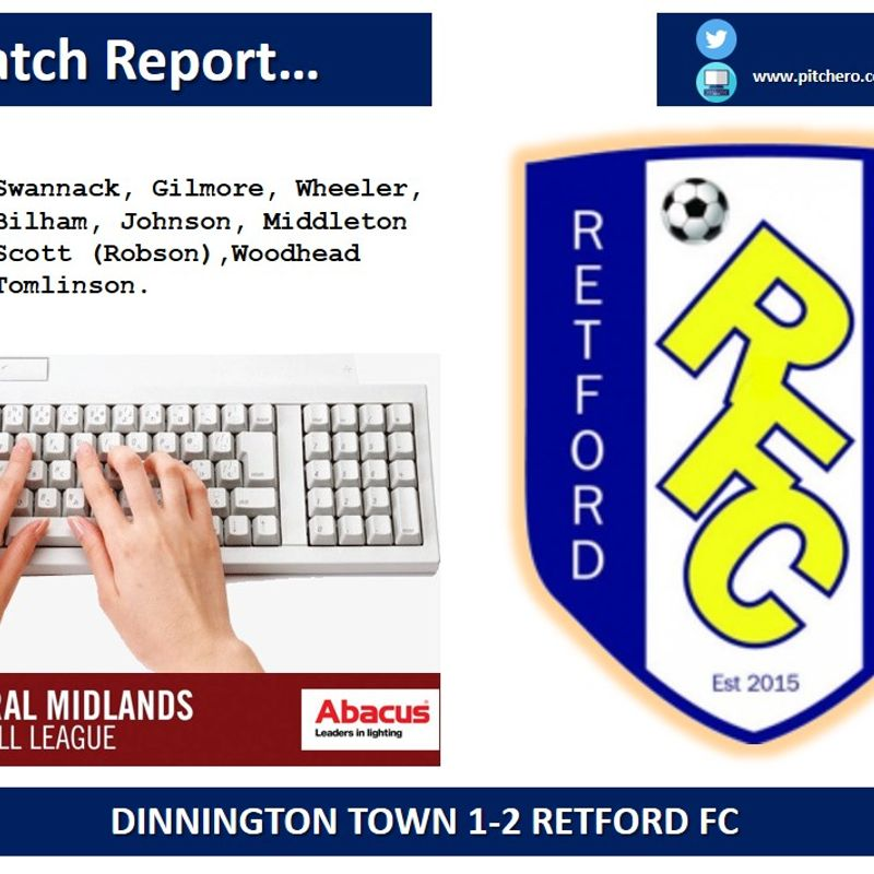 Match Report...
