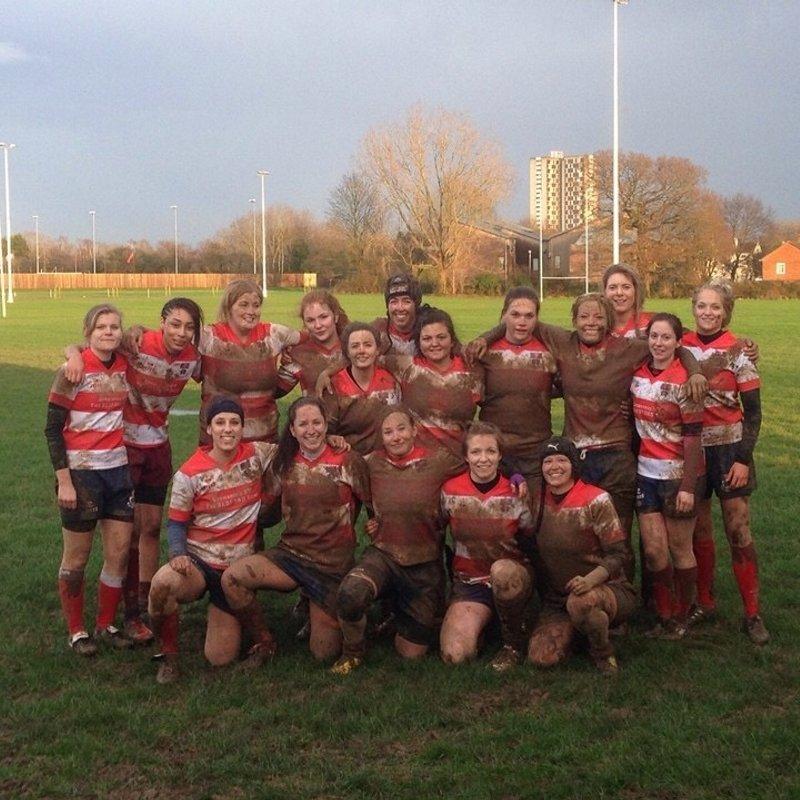 Ladies Team beat Basingstoke ladies 5 - 81