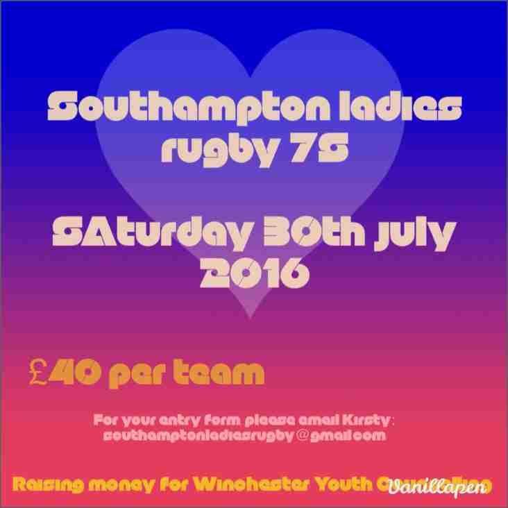 Southampton Ladies 7s 2016