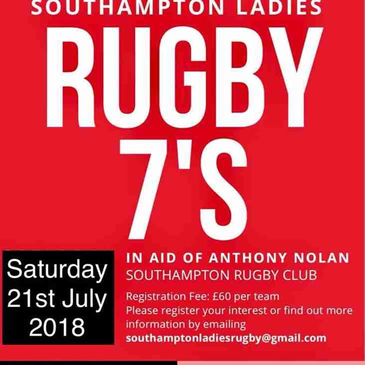 Southampton Ladies 7s 2018!