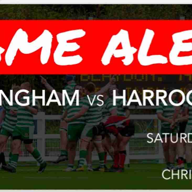 Preview: Billingham vs Harrogate 15/12/18 (H)