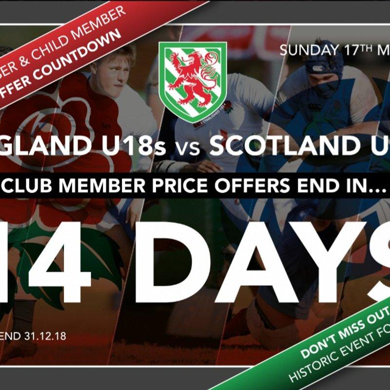 Reminder: 14 days till Membership Discount Ends!