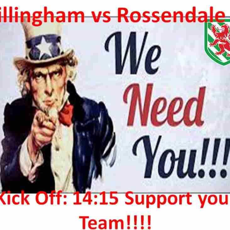 Calling all Supporters!! A Big Game This Saturday!!