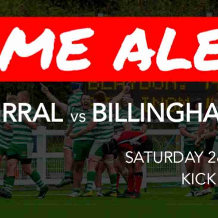 Preview: Wirral vs Billingham 22/01/2019