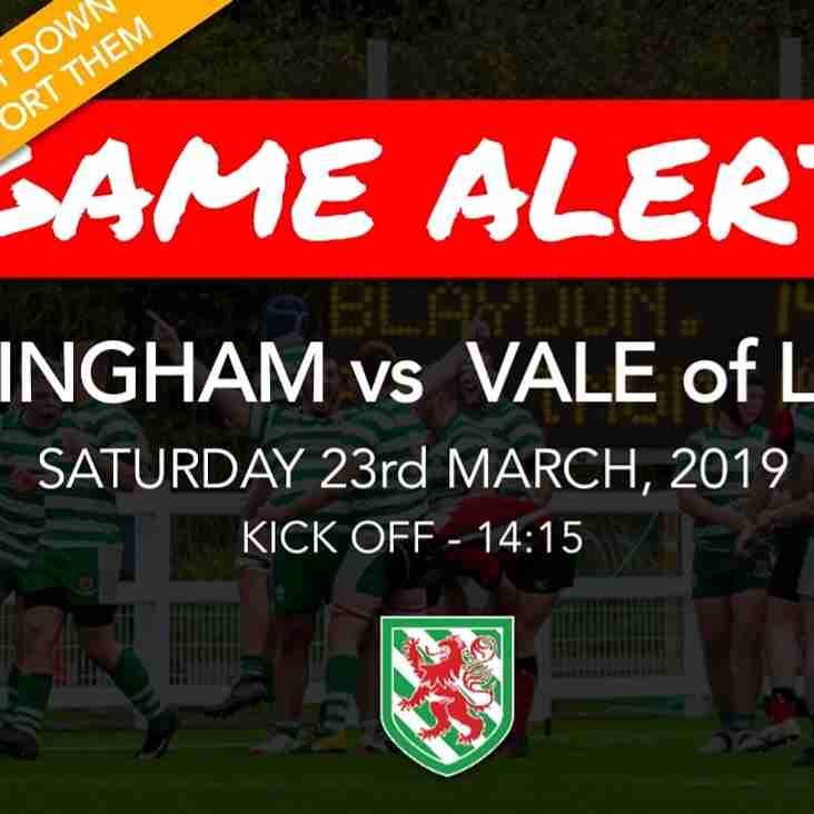 Preview: Billingham vs Vale Of Lune 23/03/2019