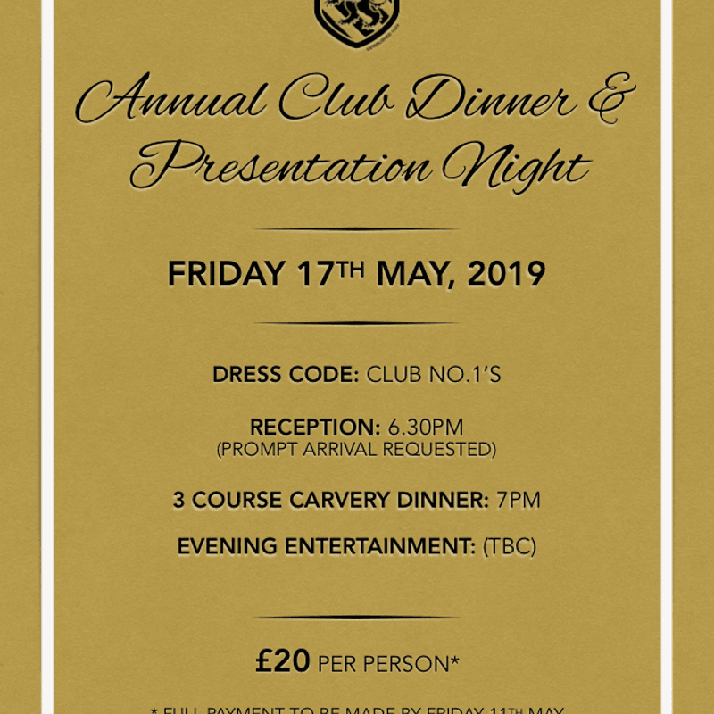 Senior Presentation Evening: Tickets Selling Fast for What Has Been the BEST Season in Billinghams History!!
