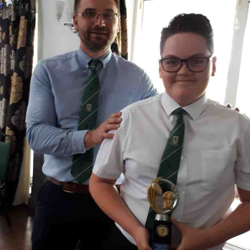 Billingham u13s Presentation Evening 2019