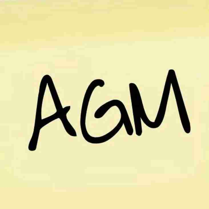 AGM Date Announced!