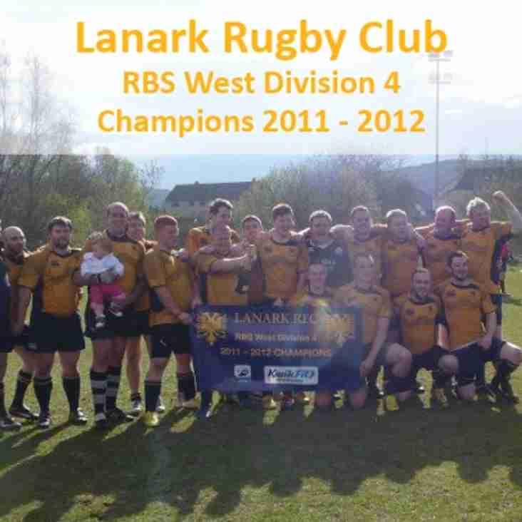 Lanark Win The League In Oban