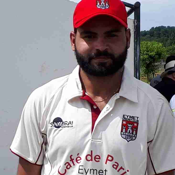 Another 100+ for Adnan set's up  T20 Pool Win for ECC