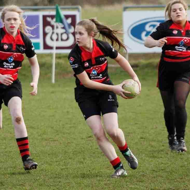 Ladies Rugby Blitz at CVRFC
