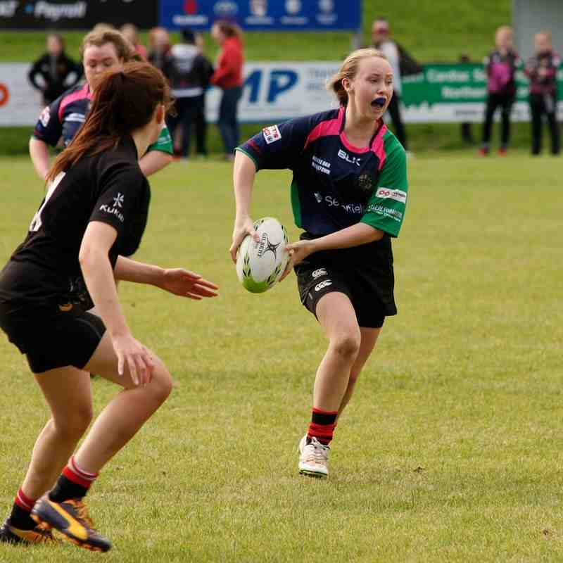 Clogher Valley/Armagh v Virginia - U18 ladies (9 Oct 16)
