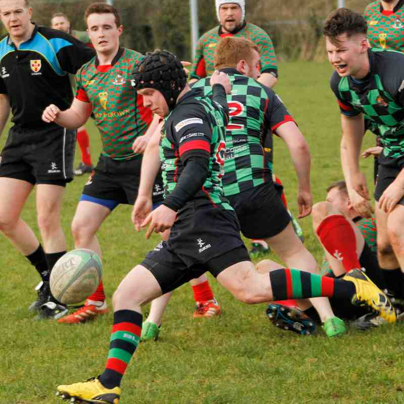 3rd XV match - 18 Feb 17