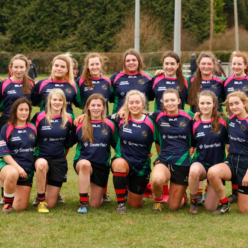U18 Ladies beat Enniskillen 19 - 7