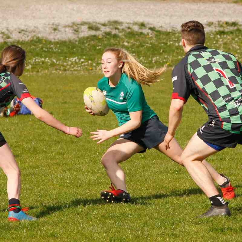 Ladies World Cup visit & Touch Competition - 7 May 17