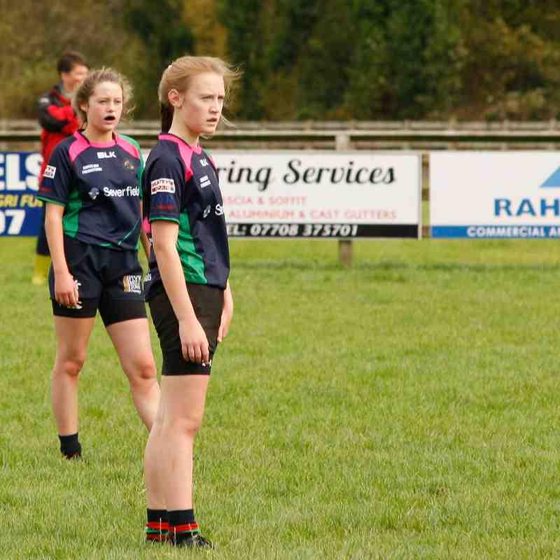 CVRFC U15 Ladies v Donaghadee - 15 Oct 17