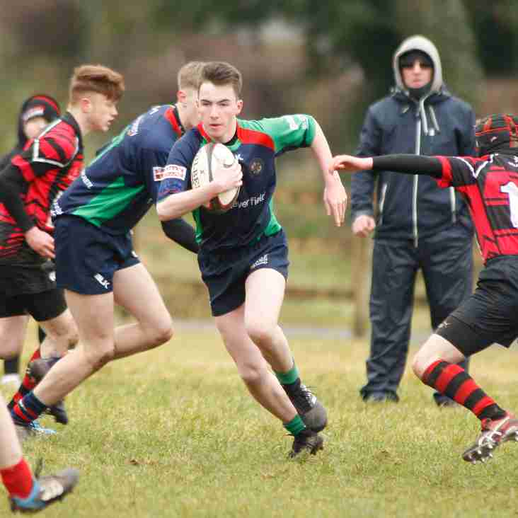 Clogher Valley U16s 14    Armagh U16s  10