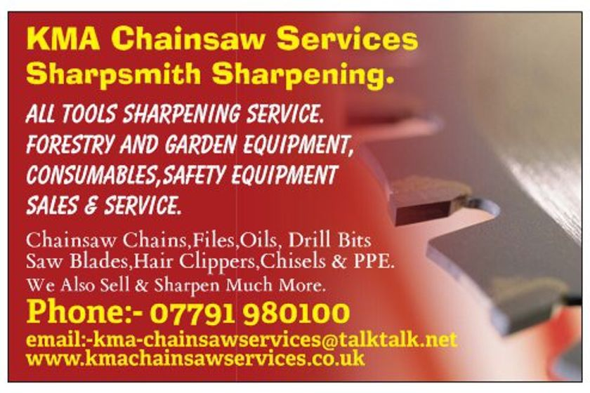 KMA Chainsaw Services Sponsor Referees at Summer Tournaments
